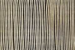 Close view of a dirty automobile air filter Royalty Free Stock Photos
