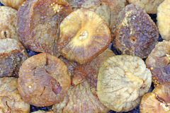 Close View Dried Figs Stock Photography