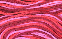 Close view embroidery thread Royalty Free Stock Photo