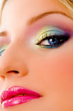 Close view of fashionable woman Stock Photography