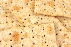 Close view of flatbread crackers Stock Photos