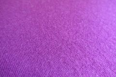Closeup of fuchsia colored knitted fabric Royalty Free Stock Photography