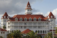 Close view of Grand Floridian at Disneyworld Royalty Free Stock Photos