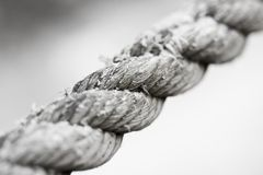 Grungy Old Rope Royalty Free Stock Photos