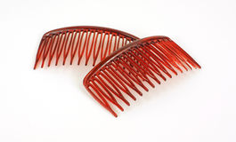 Close View Hair Combs Royalty Free Stock Photography