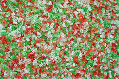 Close view holiday sprinkles Stock Photo