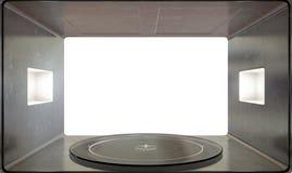 Microwave Interior Royalty Free Stock Photo
