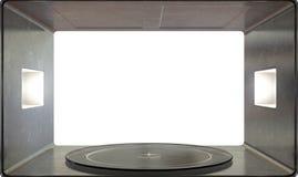 Microwave Interior Royalty Free Stock Image