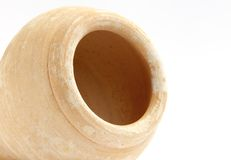 Close view inside a traditional arabic pot Royalty Free Stock Photo