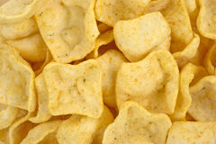 Close view jalapeno flavored potato chips Stock Images