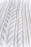 Close view of knitted fabric texture. Image of knitted fabric texture Royalty Free Stock Photos