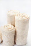 Close view of medical bandages Stock Image