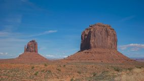 Close view of merrick butte at monument valley. A close view of merrick butte at monument valley in utah, usa stock photo
