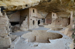 Mesa verde  dwellings Stock Photos