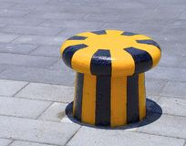 The close view of new bollard Royalty Free Stock Images