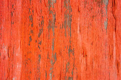 Close view of orange peeling paint on wood Stock Images