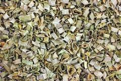 Close View Organic Chive Seasoning Royalty Free Stock Photos