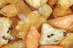 Close View Oriental Snack Mix Royalty Free Stock Images