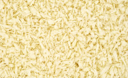 Close view panko style flaked bread crumbs Stock Photography