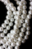 Close view pearls Stock Photo
