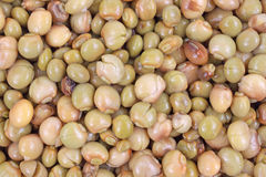 Close view of pigeon peas royalty free stock image