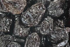 Prunes Up Close Royalty Free Stock Photography