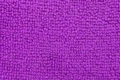 Close view of a purple microfiber sponge Stock Photography