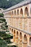 Close view of Roman Aqueduct Royalty Free Stock Image