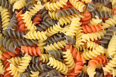 Close View of Rotini Stock Images