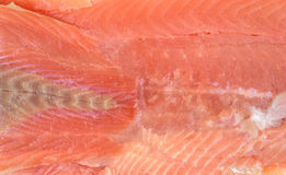 Close view salmon fillet Stock Photo