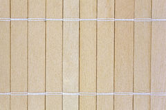 Close view small joined slats Stock Image
