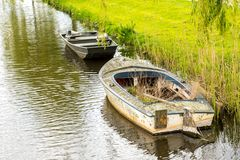 Small old boat Royalty Free Stock Photography