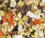 Close view of snack mix Stock Photos