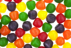 Close view sour balls Stock Images