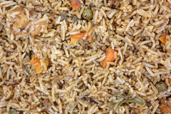 Vegetable Pilaf Close View Stock Photos