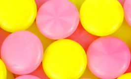Close View Sugar Free Hard Candy. A close View of colorful sugar free hard candy royalty free stock photo