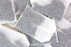 Close view teabags Royalty Free Stock Images