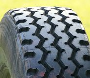 Close view of tire Stock Photos