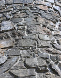 Close view of tower built from stone Royalty Free Stock Photography