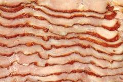Close view turkey bacon Stock Photo