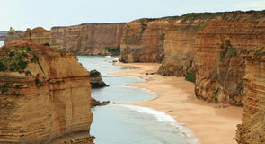Close view of the Twelve apostles Stock Photography