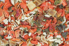 Close view of vegetable flake seasoning Stock Photography