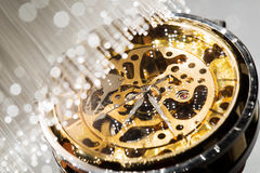 Close view of watch Royalty Free Stock Images