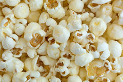 Close view of white cheddar cheese popcorn Stock Image