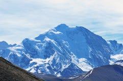 Close watch  mt Minya Konka peak Stock Photo