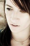 Close woman portrait Royalty Free Stock Photo
