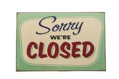 closed imagem de stock royalty free
