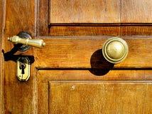 Closed. Church door Stock Image