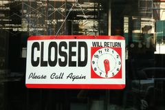 closed imagens de stock