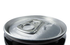 Closed aluminum can for soft drinks Royalty Free Stock Image